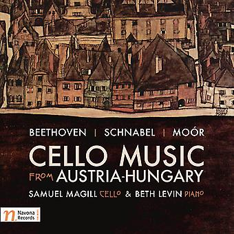 Beethoven / Magill / Levin - Cello Music From Austria-Hungary [CD] USA import