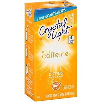 Crystal Light on the Go Citrus With Caffeine Drink Mix Packets
