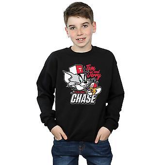 Tom et Jerry Boys chat & souris Chase Sweatshirt