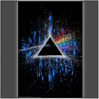 Dark Side of the Moon Poster Poster Print by Stephen Fishwick