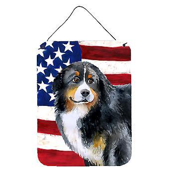 Berner Sennenhond patriottische muur of deur hangen Prints