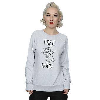 Disney Frauen Gefrorene Olaf kostenlose Umarmungen Sweatshirt