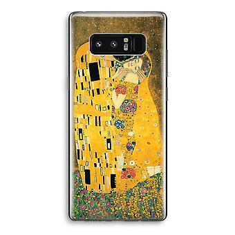Samsung Galaxy Note 8 gjennomsiktig sak (myk) - Der Kuss