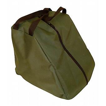 Caminhando Boot zipado carreg o saco em material de lona impermeável resistente