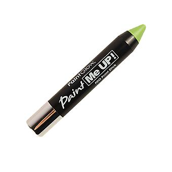 PaintGlow Pro Face Paint Sticks Bright Green