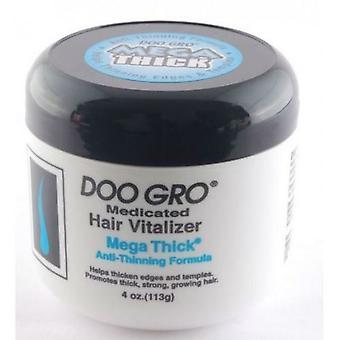 DOO GRO Medicated Hair Vitalizer Mega Thick Anti-Thinning Formula 4oz/113g
