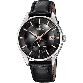 Festina mens watch classic retro F20277-4
