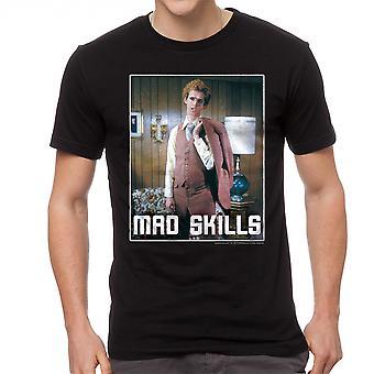 Negro gracioso camiseta Napoleón dinamita destrezas traje hombres