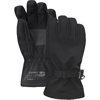 Hausfriedensbruch Mens & Damen/Damen Goten wasserdichte Softshell Handschuhe