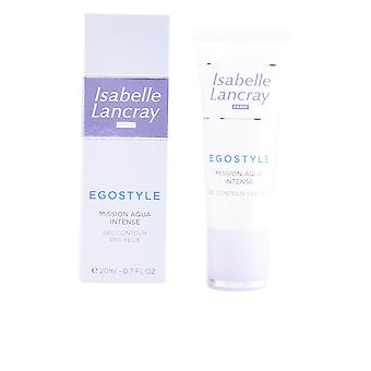 Isabelle Lancray Egostyle Mission Aqua Intense Gel Contour Des Yeux 20 Ml For Women