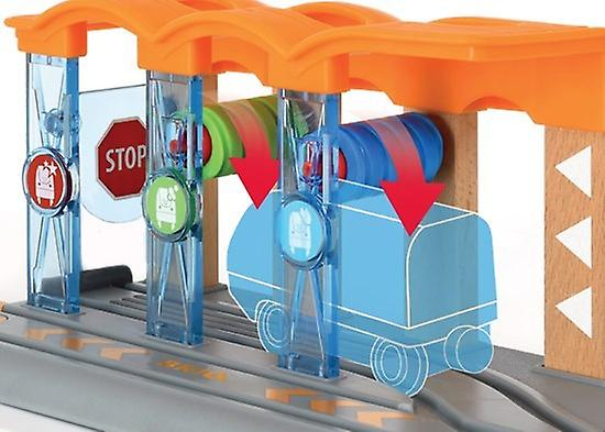 BRIO Smart Tech - Washing Station 33874 Automated Extra for Wooden Railway Set