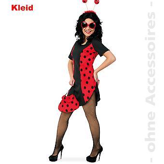 Mariehøne Lady kostume beetle kjole Ladybird beetle damer kostume