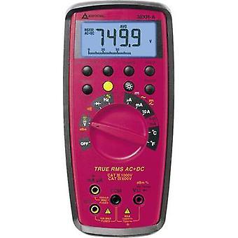 Beha Amprobe 38XR-A-D Handheld multimeter Digital CAT III 1000 V, CAT IV 600 V Display (counts): 9999