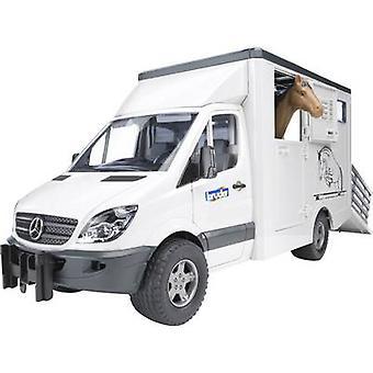 Broer Mercedes Benz Sprinter dieren Transporter inclusief 1 paard