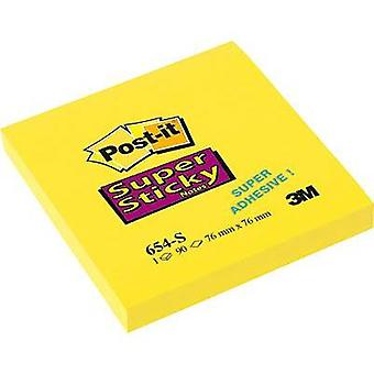 Post-it Sticky note 654-S 76 mm x 76 mm Narcissus 90 sheet