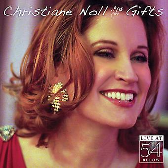 Christiane Noll - Gifts: Live at 54 Below [CD] USA import