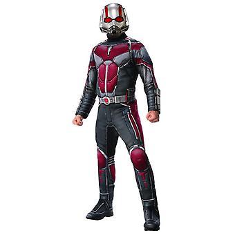 Mens MARVEL Ant-Man ATW Deluxe costume Halloween carnevale Ant Man Super eroe