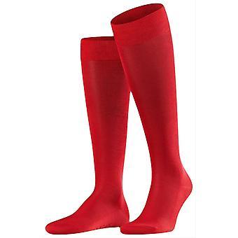 Falke Tiago Knee High Socks - Scarlet Red