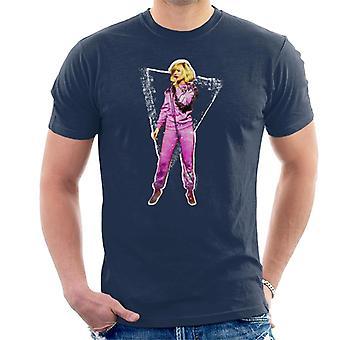 TV ganger Debbie Harry Retro Shell Dress 1981 menn t-skjorte