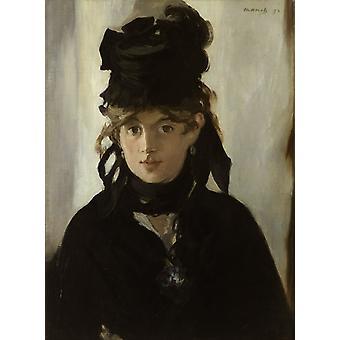 Berthe Morisot au bouquet de violettes, Edouard Manet, 55x38cm