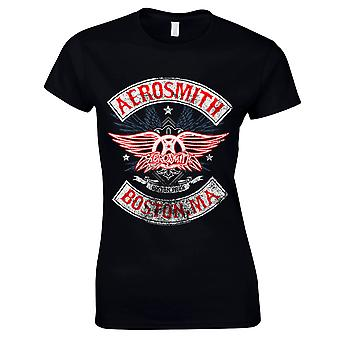 Aerosmith-Boston Pride T-Shirt, femmes