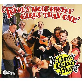 McCamy's Melody Sheiks - There's More Pretty Girls Than One [CD] USA import