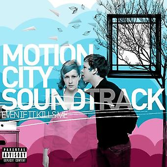 Motion City Soundtrack - Even If It Kills Me [CD] USA import