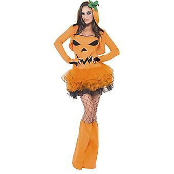 Fever Pumpkin Tutu Dress with Detachable Straps
