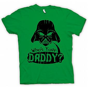 Kids T-shirt - Who's Your Daddy - Funny Darth