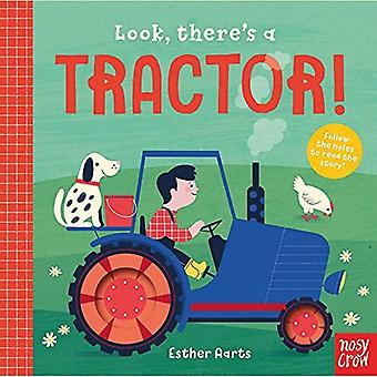 Look, There's a Tractor! (Look, There's a) [Board book]