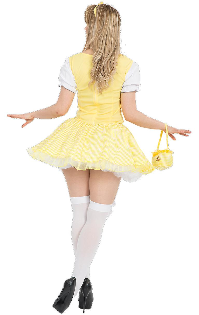 Orion Costumes Womens Yellow Goldilocks Fairy Tale Princess Fancy Dress Costume