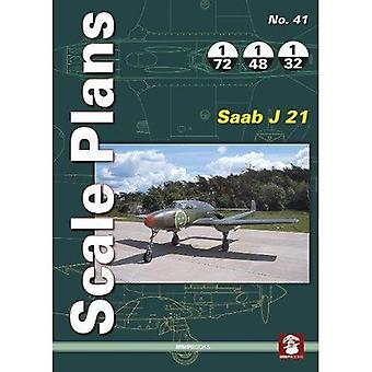 Scale Plans 41: Saab J 21� (Scale Plans)