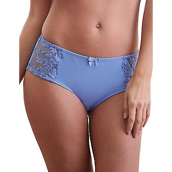 Guy de France 14909-D Women's Embroidered Knickers Panty Full Brief