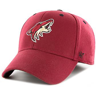 47 Brand Stretch Cap - KICKOFF Arizona Coyotes cardinal