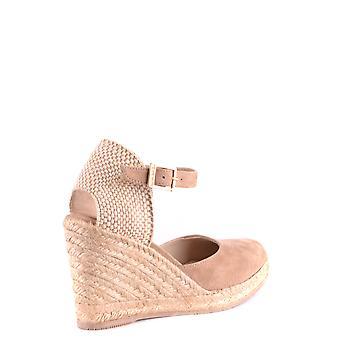 Paloma Barceló Ezbc129005 Women's Beige Suede Sandals