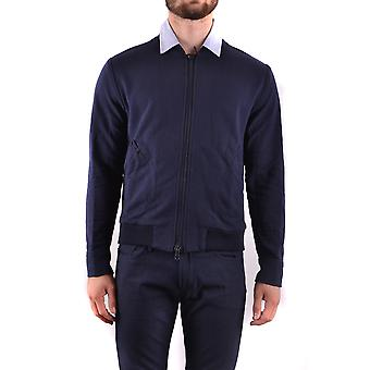 Daniele Alessandrini Ezbc107065 Men's Blue Cotton Sweatshirt