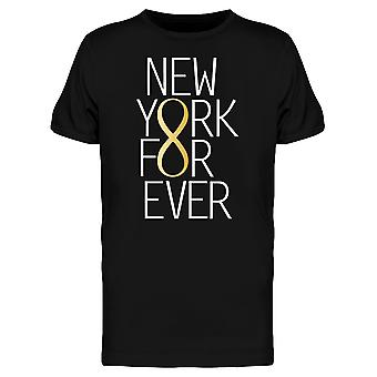 New York ikuisesti ääretön Tee Men-kuva: Shutterstock