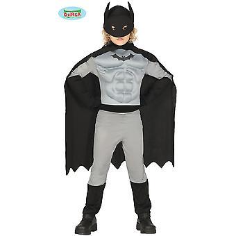 Kinder kostuums Bat superheld kostuum