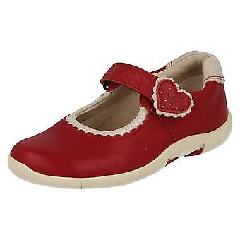Девочек Clarks туфли Бинни сердца