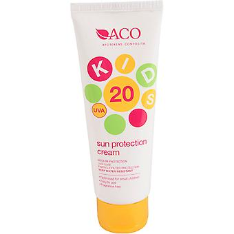 ACO Kids Sun Protection Cream SPF 20 125ml ACO Kids Sun Protection Cream SPF 20 125ml