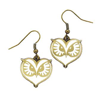 Fantastic Beasts and Where to Find Them Owl Face Earrings