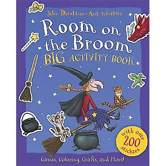 Room on the Broom Big Activity Book by Julia Donaldson - Axel Scheffl