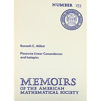 Piecewise Linear Concordances and Isotopies by K.C. Millett - 9780821