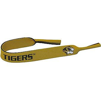 Missouri Tigers NCAA Neoprene Strap For Sunglasses/Eye Glasses