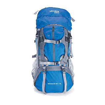 65 + 5 Litre Waterproof Rucksack 600D Nylon Blue