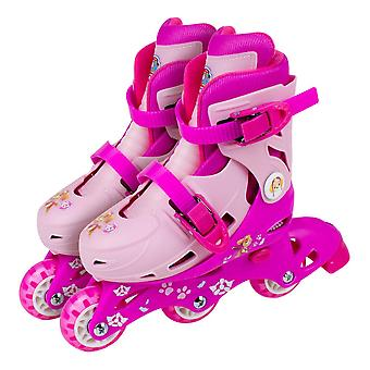 Paw Patrol Skye 2-em-1 Tri para inline Roller skates tamanho 9-11.5 (OPAW084-F)