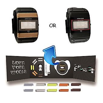 Wize and Ope  Collectors Box Digital  Watch BD-WO-1