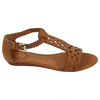 Ash Footwear Moon Leather Sandal, Nude