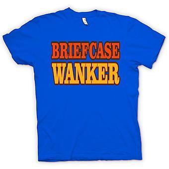 Mens T-shirt-Aktenkoffer Wichser