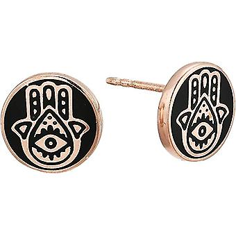 Alex And Ani Hamsa Post Earrings - 14KT Rose Gold Plated - PC18EHSR